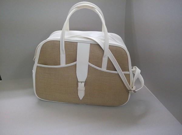 Τσάντα βάπτισης εκρού-λινάτσα Α-19 592d20ac95a