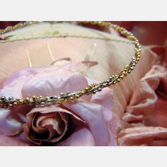Στέφανα γάμου μεταλλικά ασημί και αλυσίδα χρυσή ασημί