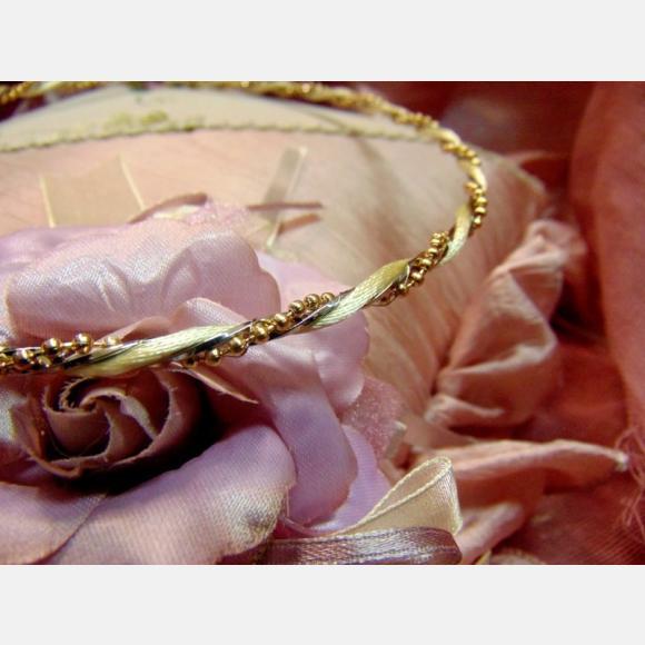 Στέφανα γάμου μεταλλικά ασημί και αλυσίδα σε χρώμα χρυσό