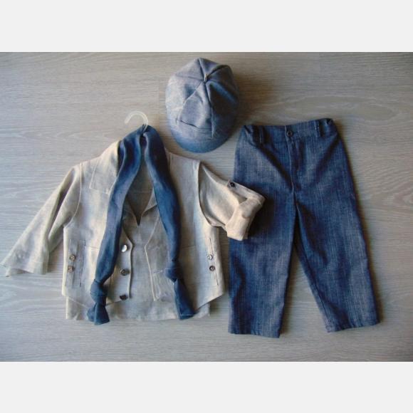 Βαπτιστικό Ρούχο για αγόρι Α-528
