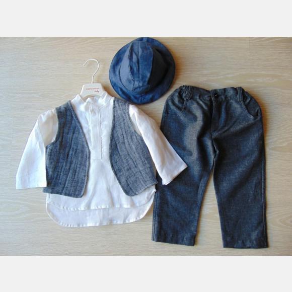 Βαπτιστικό Ρούχο για αγόρι Α-526