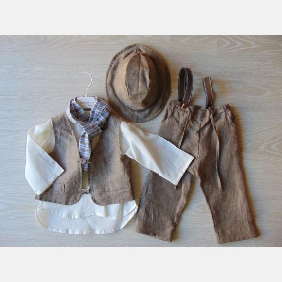 Βαπτιστικό Ρούχο για αγόρι Α-525