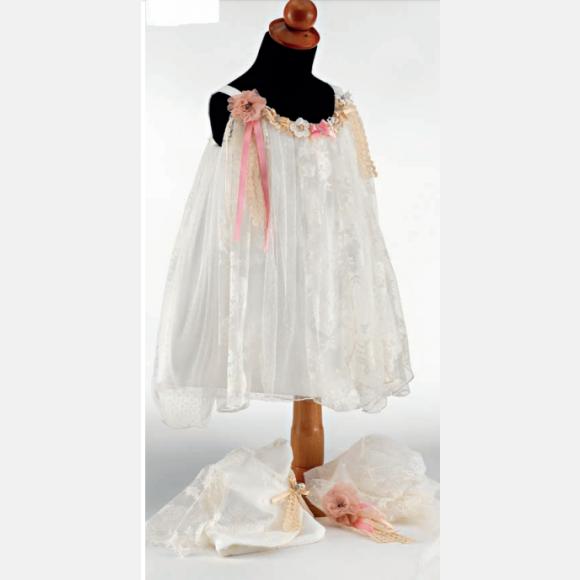 Βαπτιστικό ρούχο για κορίτσι Ε-32