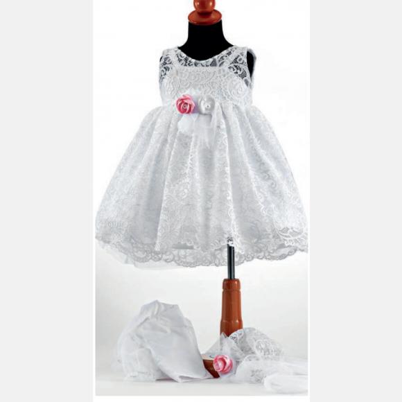 Βαπτιστικό ρούχο για κορίτσι Ε-35