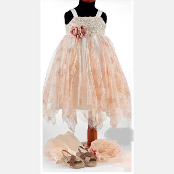 Βαπτιστικό ρούχο για κορίτσι Ε-39