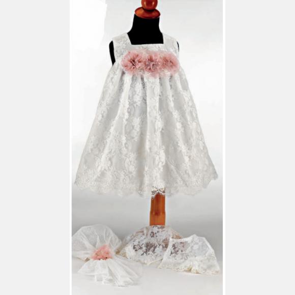 Βαπτιστικό ρούχο για κορίτσι Μ-63