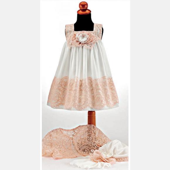 Βαπτιστικό ρούχο για κορίτσι Μ-83