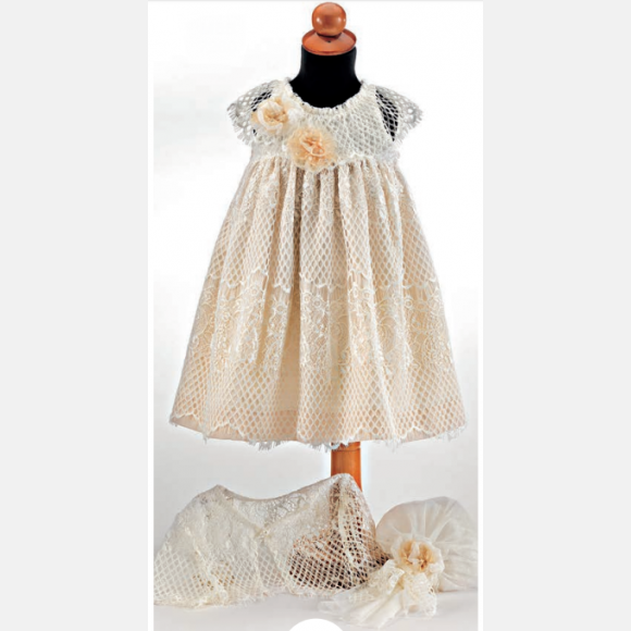Βαπτιστικό ρούχο για κορίτσι Μ-85
