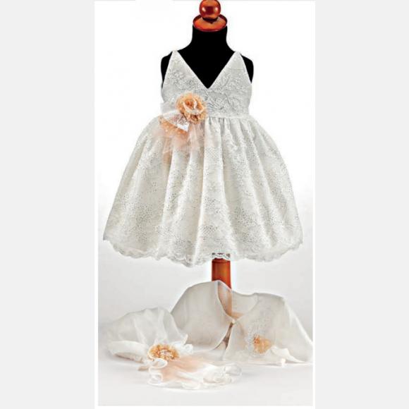 Βαπτιστικό ρούχο για κορίτσι Μ-86