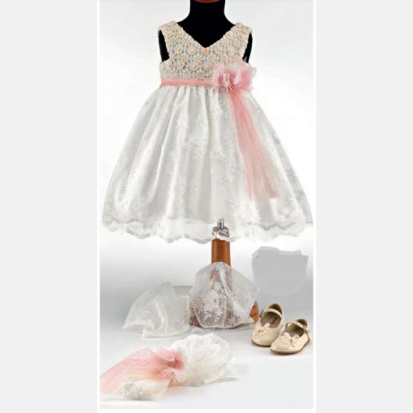 Βαπτιστικό ρούχο για κορίτσι ΝΟ-36