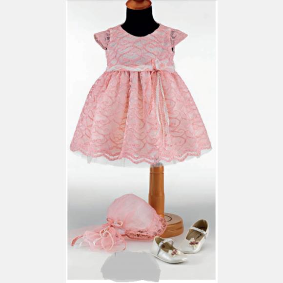 Βαπτιστικό ρούχο για κορίτσι ΝΟ-39
