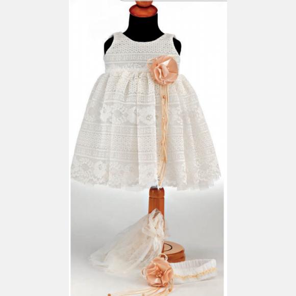 Βαπτιστικό ρούχο για κορίτσι ΠΚ-4