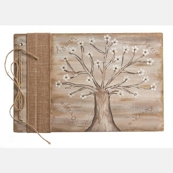 Βιβλίο ευχών με θέμα το δέντρο της ζωής