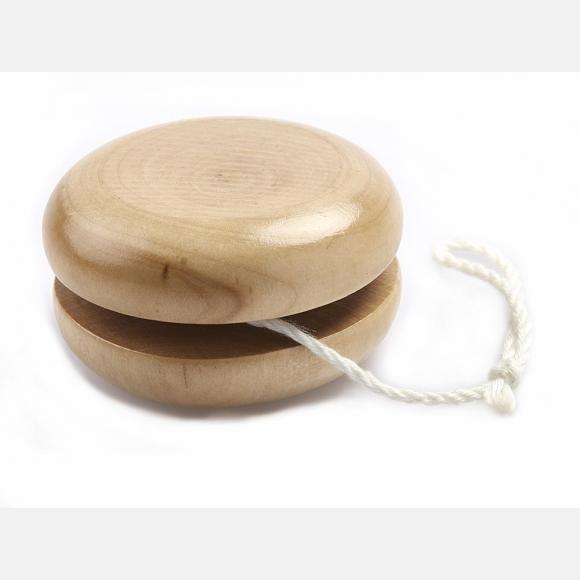 Μπομπονιέρα βάπτισης παιχνίδι ξύλινο γιο-γιο